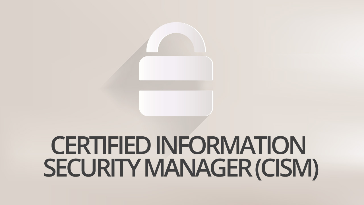 Certified information security manager cism vision training systems 1betcityfo Choice Image