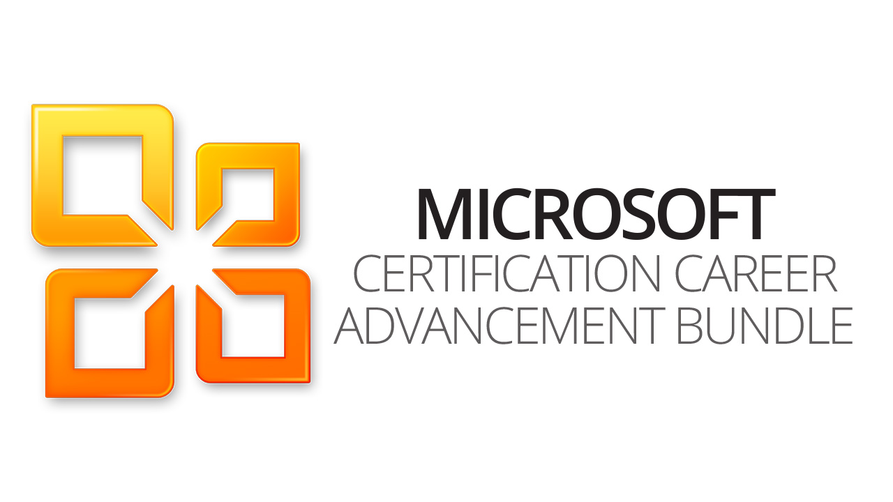 Microsoft Certification Career Advancement Bundle Vision Training
