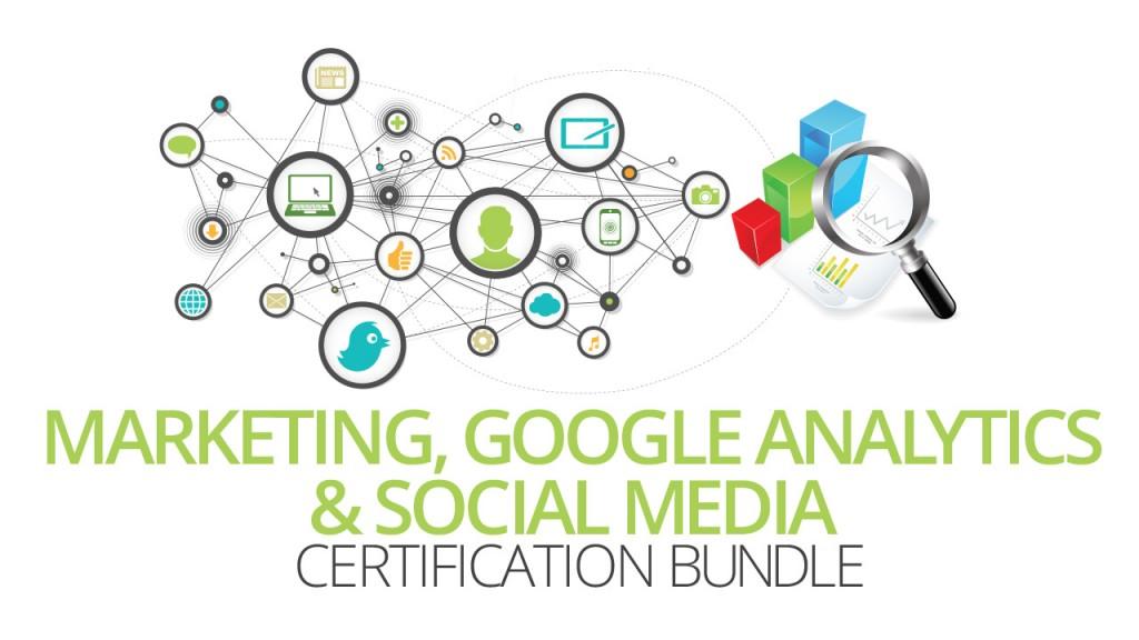 Marketing Google Analytics And Social Media Training Bundle